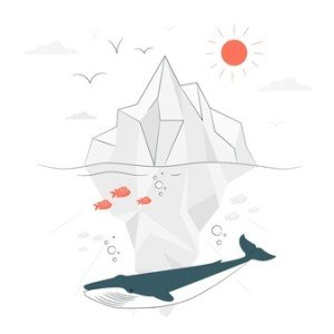 illustration-concept-iceberg_114360-3499